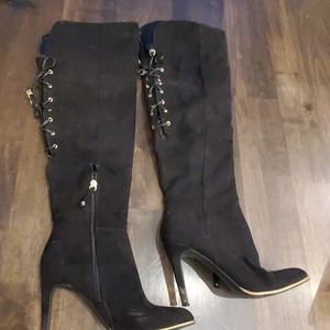 Sam and libby Knee high black boots